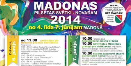 Madonas Pislētas svētki 2014